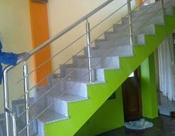 SS Railing Fabrication Labour Charges