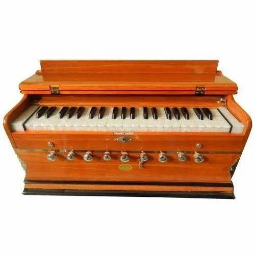 Musical Harmonium, Pump Organ, हारमोनियम - Sargam Music ...
