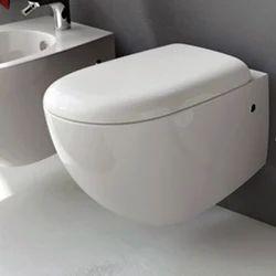 Hygree White Wall Hung Toilets