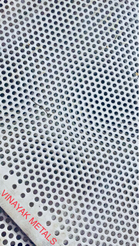 Round Hole Stainless Steel Steel
