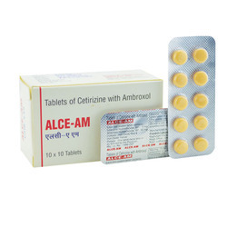 Alce-AM Cetirizine with Ambroxol Tablet