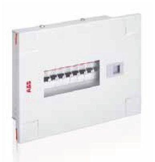 Abb 2 Pole Distribution Board Metal Door With Acrylic,