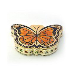 Butterfly Meenakari Dry Fruit Box 427