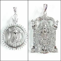925 Silver Tiripati Balaji Pendant
