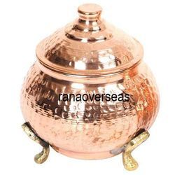 Copper Tea Suga Canister