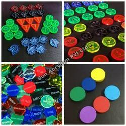 Plastic Tokens Customised