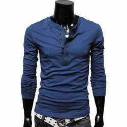Mens Full Sleeves T-Shirt in Ludhiana, Punjab | Manufacturers ...