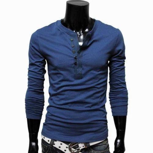 0c889cae4 Polyester Nylon Nightwear Men  s Full Sleeves T Shirt