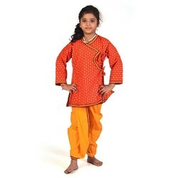 Girls Dhoti Angrakha Dress 201C