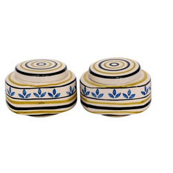 Multicolor Ceramic Jar Set