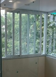 UPVC Three Track Sliding Windows