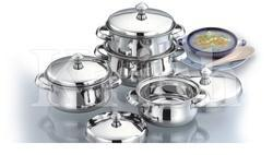 Steel Handle Royal Casseroles