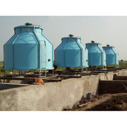 Round Cooling Tower without Basin