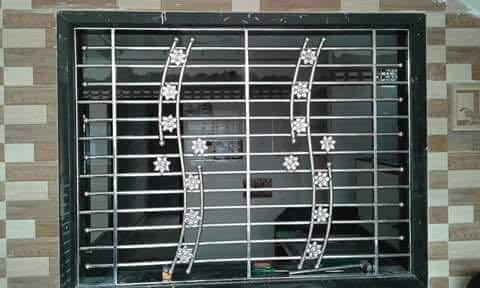 Stainless Steel Window Grill Ss Window Grills स्टेनलेस