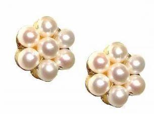 2deff3ccf9cff Pearls Kudi Star Earring