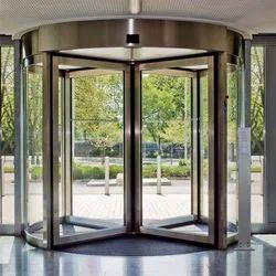 Contemporary Revolving Door