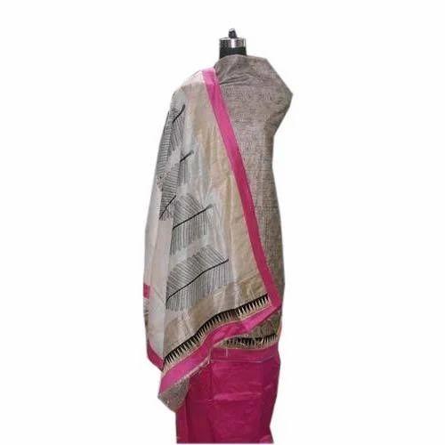 Tussar Silk Unstitched Suits Manufacturer from Delhi