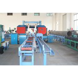 Stainless Steel Mobile Pipe Conveying Systems for Industrial, Length: 10-20 feet