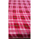 Check Printed Fleece Blanket