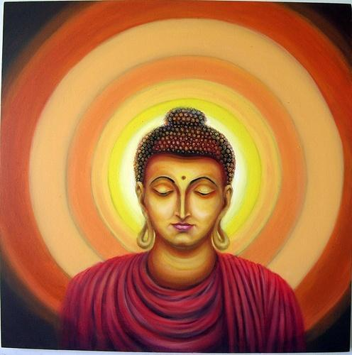 gautam buddha 3 paintings view specifications details of