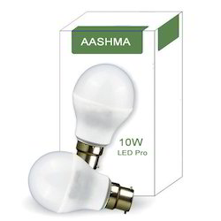10w Aashma Brand LED Bulb Packing With Outer Box