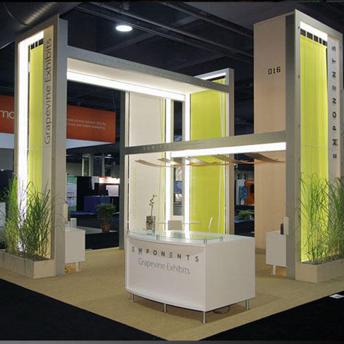 Property Exhibition Booth : Semi modular exhibition booth in andheri east mumbai id