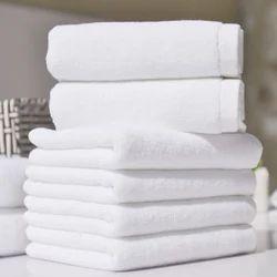 Plain Hotel Bath Towels