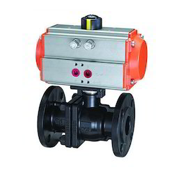 2 Way Ball Valve with Pneumatic Actuator