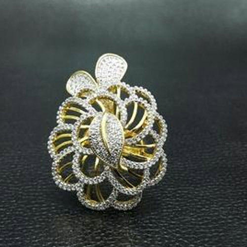 stylish jewelry finger for women product peacock design ring large rings fashion crystal detail