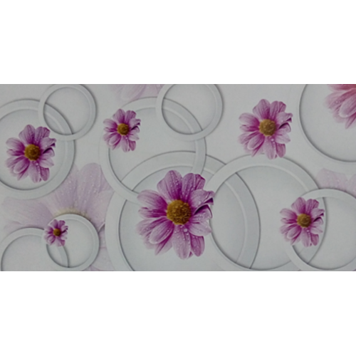 Paper Flower Printed White Laminated Sheet Thickness 1