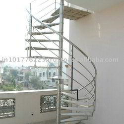 Stainless Steel Round Stair Case