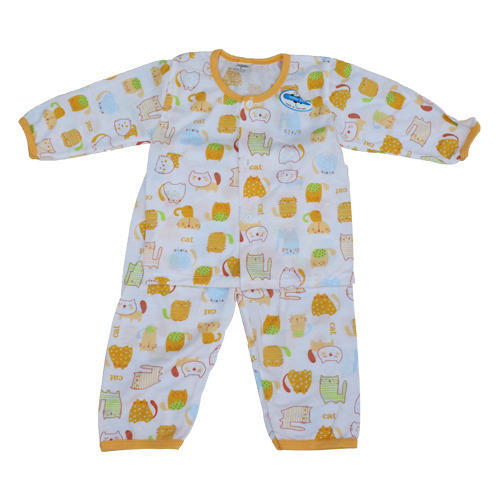Printed Baby Night Suit At Rs 130 Piece Baby Clothes Id