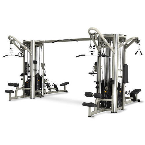 Commercial Gym Equipment India: MS 8 Multi Station Gym Machine, Dimension: Upto 3200 X