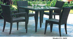 Dining Rattan Table