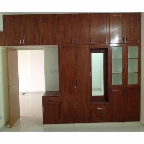 Designer Wooden Wardrobe SMP