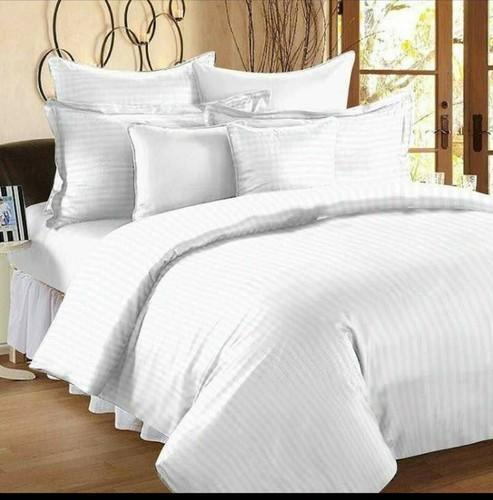 White Satin Bed Sheets