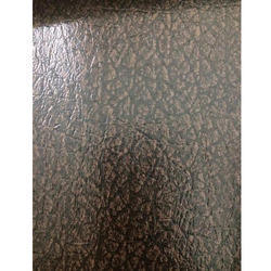 Embossed Dark Brown Leather