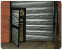 Shutter With Wicket Door At Rs 300 Square Feet S