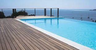Swimming Pool Deck Flooring in Coimbatore, Edayarpalayam by Wood ...