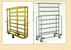 Textile Yarn Trolley