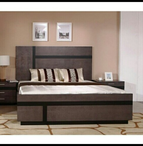 525012bf87 Wooden Bed, Size/Dimension: 6 Feet, Rs 12000 /piece, Icon Interior ...