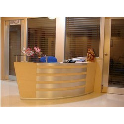 Institute Reception Interior Designing Services