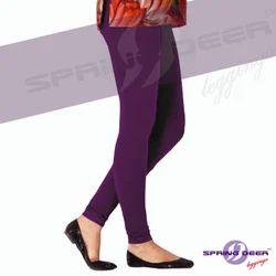 Ladies Plain Legging