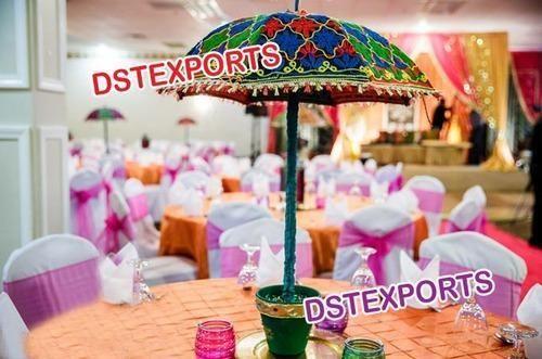 Indian wedding table decoration umbrella dst exports patiala id indian wedding table decoration umbrella junglespirit Image collections