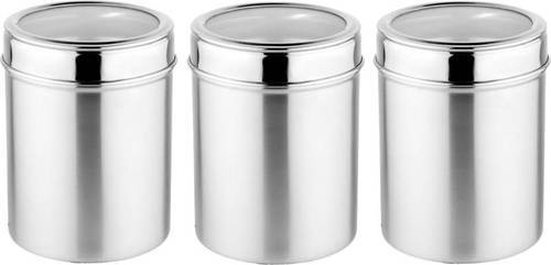 Tremendous Stainless Steel See Thru Canisters Best Image Libraries Thycampuscom