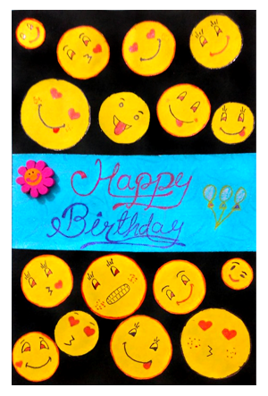 Handmade smiley design greeting cards handmade greeting cards handmade smiley design greeting cards m4hsunfo