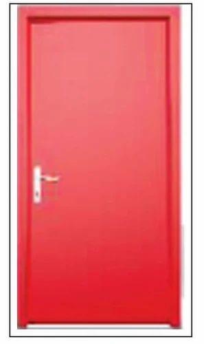Plain Steel Finish Door