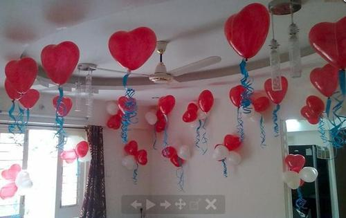 Adult Birthday Party Balloons Decoration Services