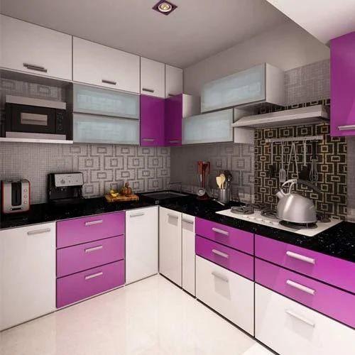 Designer Modular Kitchen At Rs 360 Square Feet: Custom Modular Kitchen Rate As Per Design In Banjara Hills