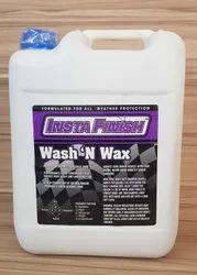 Insta Finish  Wash N Wax Shampoo